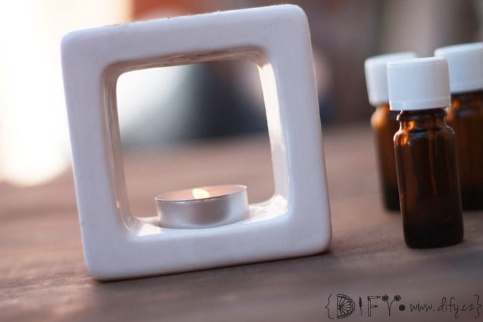 Základy aromaterapie - použití oleje v aromalampě
