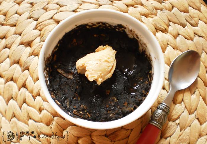 Banánovo dýňový dortík s kokosem