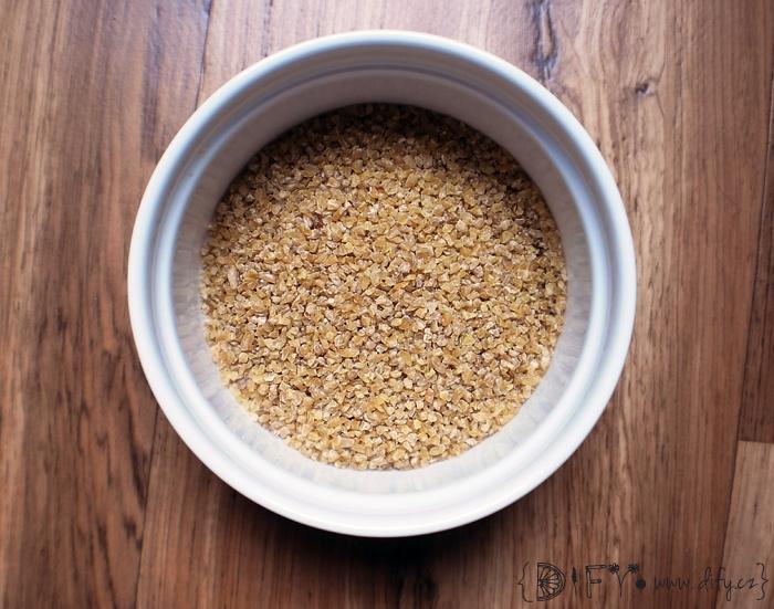 Bulgur, celozrnná lámaná pšenice