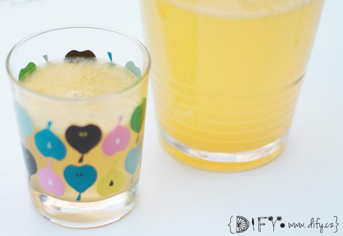 Domácí citrusová vitamínová limonáda