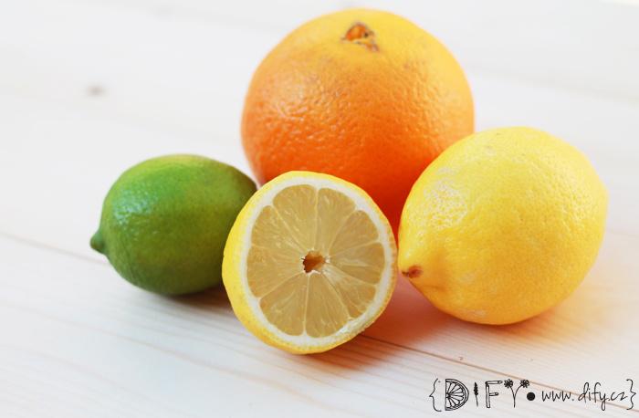 Citrusové vůně ideální na léto