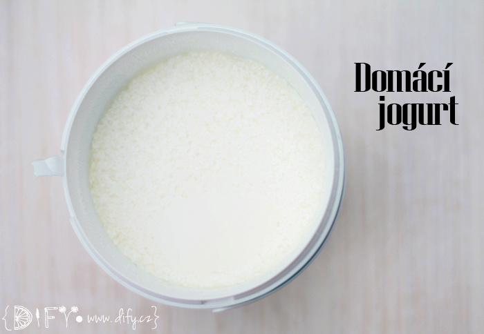 Recept na domácí jogurt