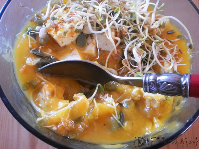 Další varianta polévky z dýně Hokaido