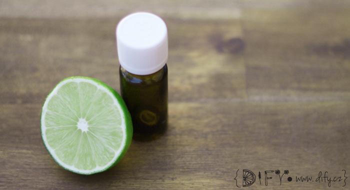 Limetkový esenciální olej