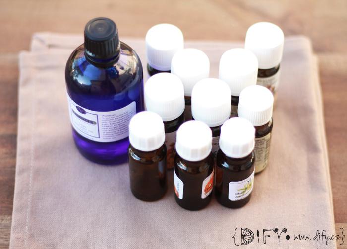 Esenciální oleje - základy aromaterapie - využití