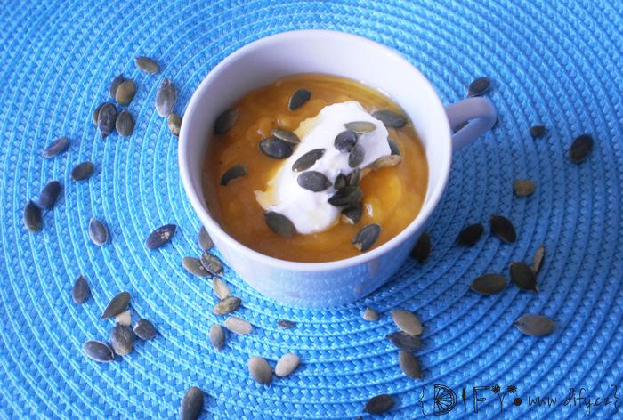 Famózní polévka z dýně Hokaido