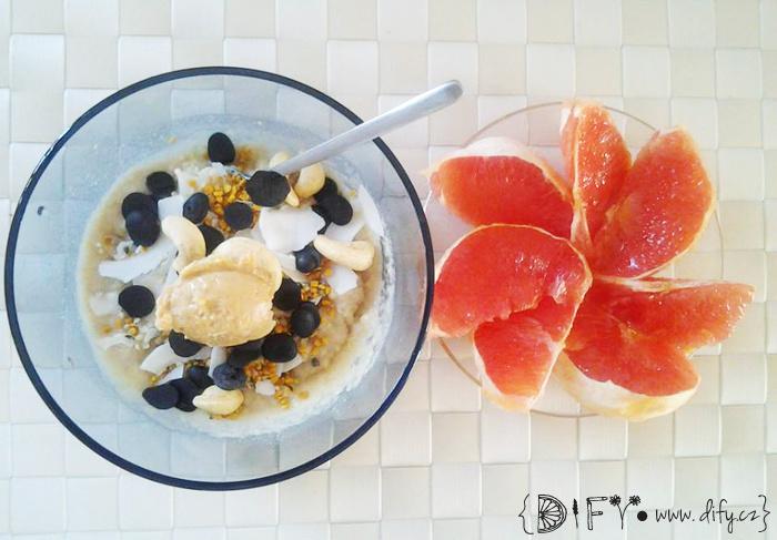 Obilná kaše, rychlá a chutná snídaně