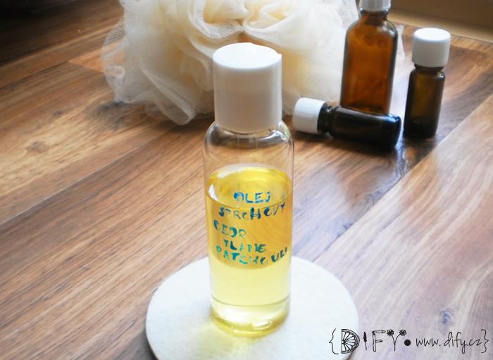 DIY sprchový olej s ylang ylang