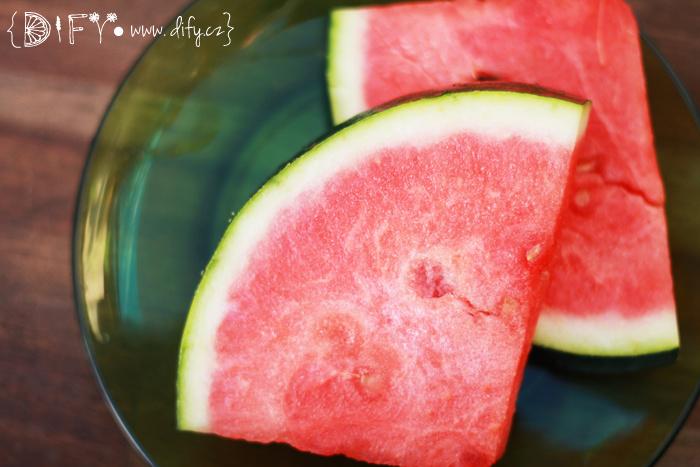 Svěží vodní meloun