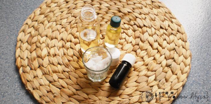 DIY čístící obličejový olej s mátou - recept