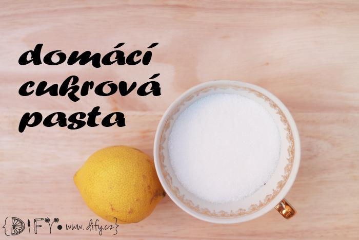 Domácí epilační cukrová pasta - recept