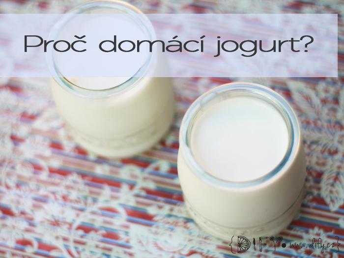 Důvody, proč dělat domácí jogurt