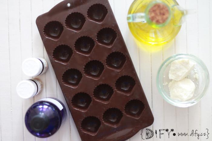 Recept na domácí pevné kakaové tělové máslo