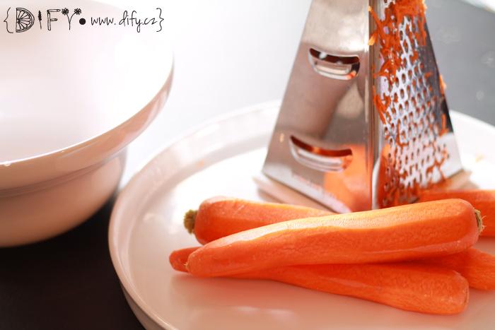 Recept na jednoduché mrkvové mufiny