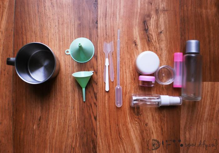Pomůcky na výrobu domácí kosmetiky