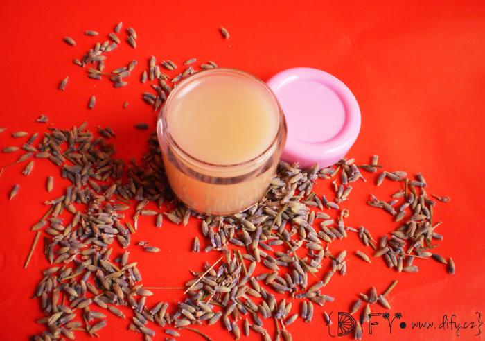 DIY levandulový krém z přírodních surovin