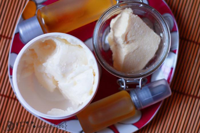 Rostlinné oleje a másla a ucpávání pórů