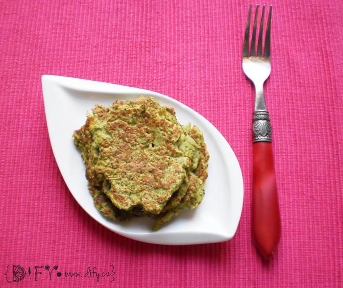 Snadné a zdravé brokolicové placičky