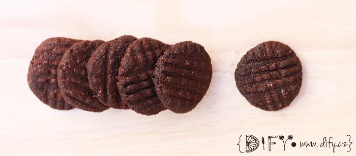 Jednoduché domácí koka sušenky - recept