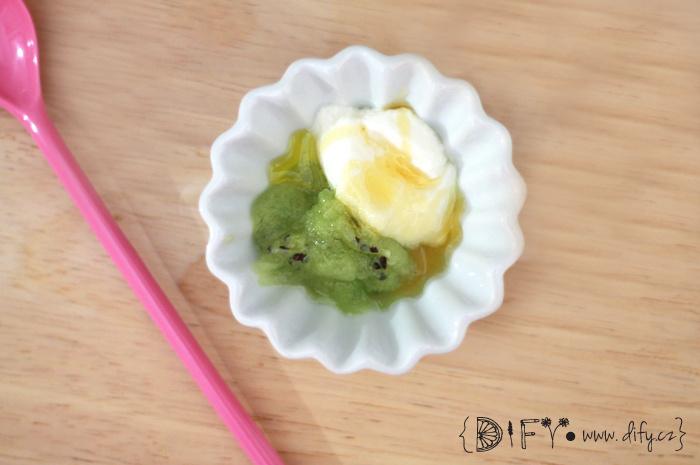 Domácí jogurtová kiwi maska