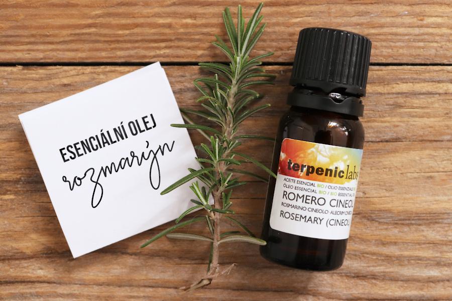 Esenciální olej rozmarýn lékařský - vlastnosti a použití
