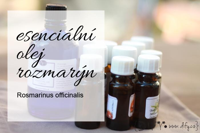 Rozmarýnový esenciální olej