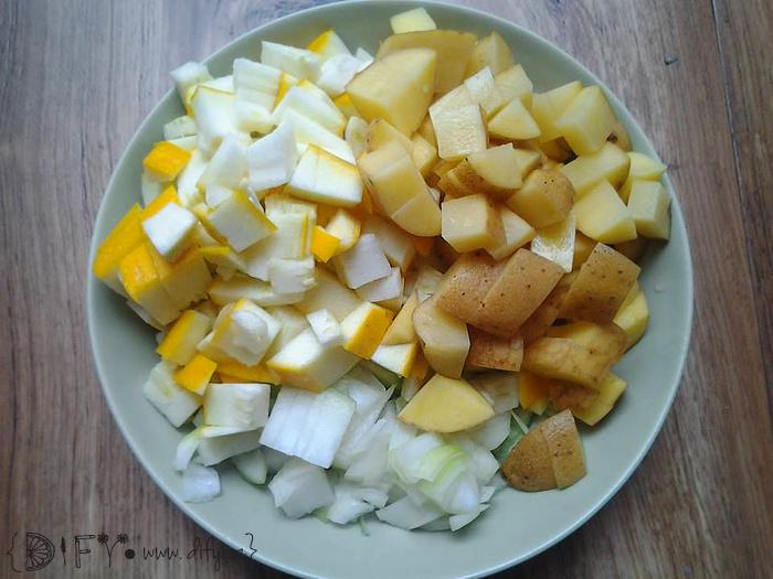 Fazolový kotlík s uzeným tofu - recept