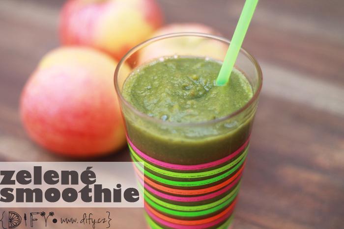 Nejjednosuššá zelené smoothie - recept