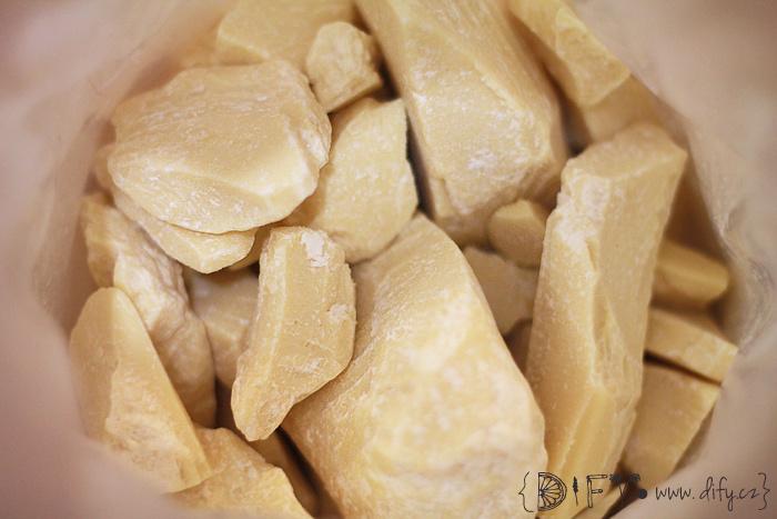 Kakaové máslo v přírodní kosmetice