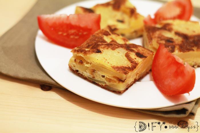 Španělská bramborová tortilla
