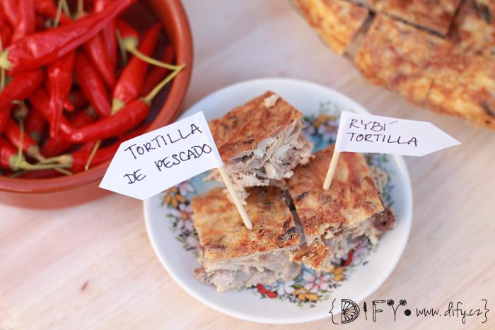 Domácí rybí tortilla - recept
