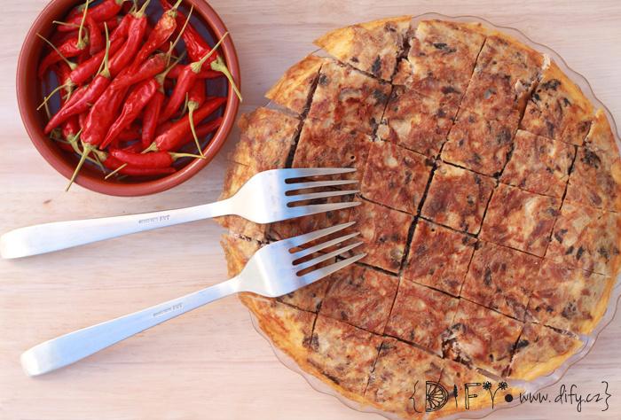 Tortilla de pescado aneb rybí tortilla