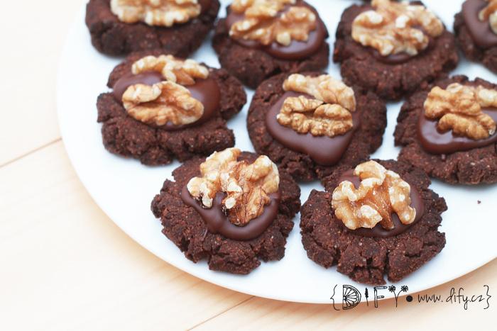 Kakaové cukroví bez lepku