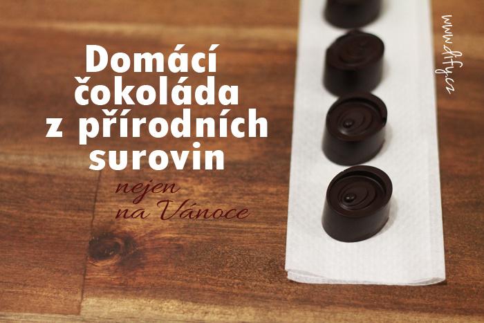 Výroba přírodní čokolády