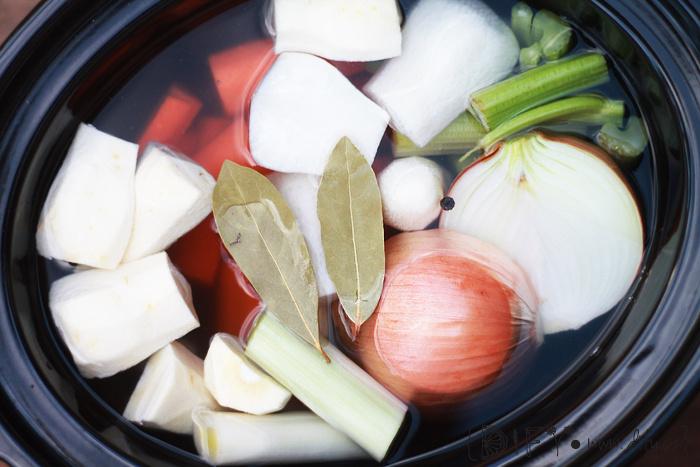 Domácí zeleninový vývar - snadný recept
