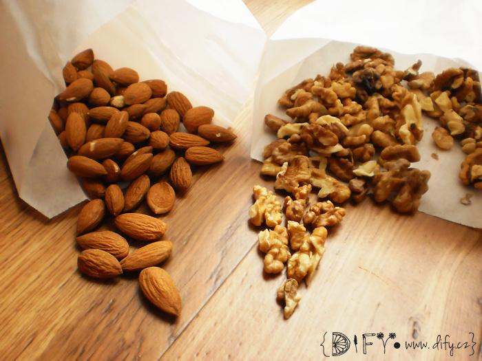 Zdravé ořechy v naší stravě
