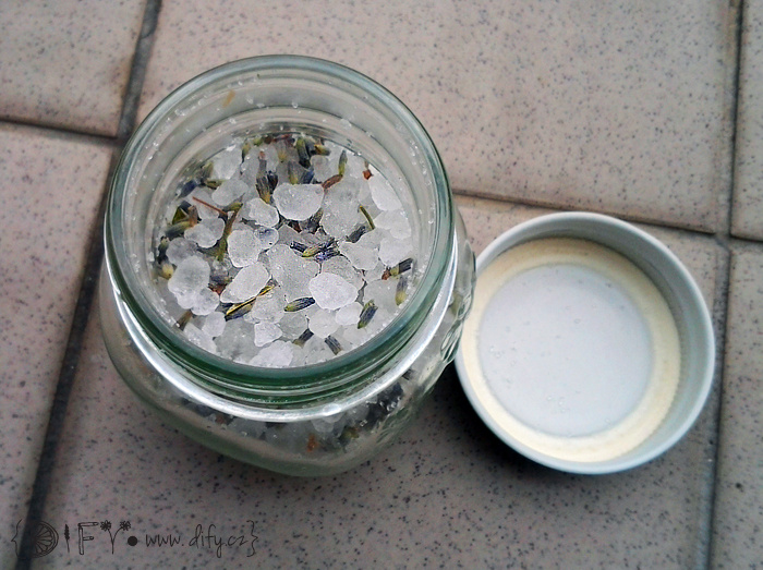 Koupelová sůl z Mrtvého moře s levandulí