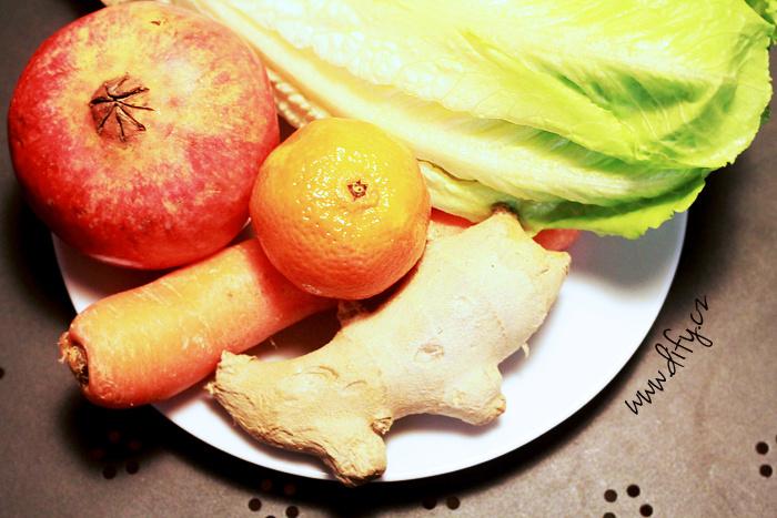 Sladký vitamínový salát recept