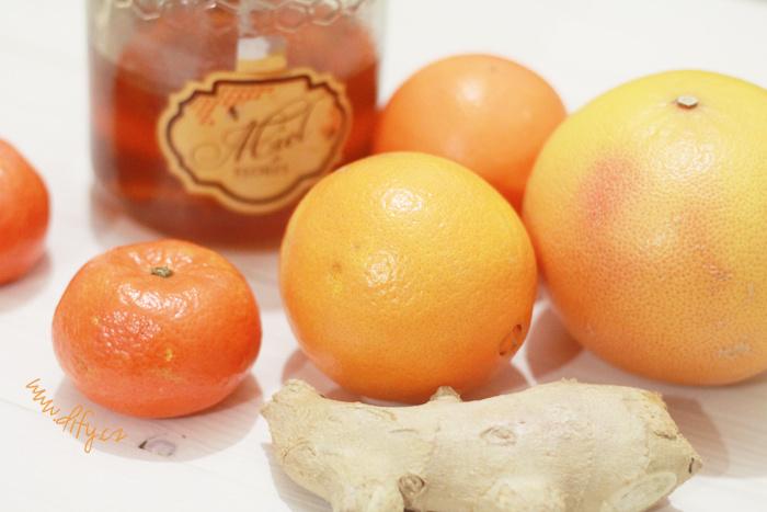 Recept na vitamínový citrusový salát