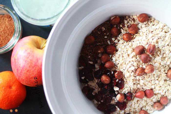 Dietní granola recept