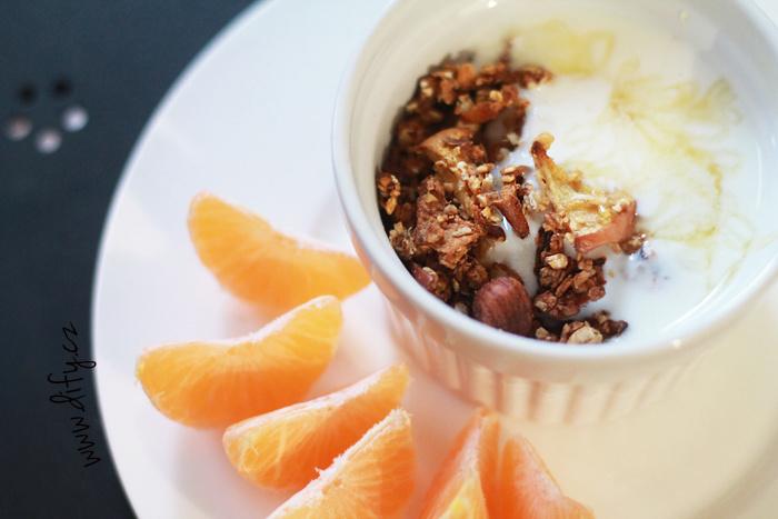 Nízkokalorická domácí granola