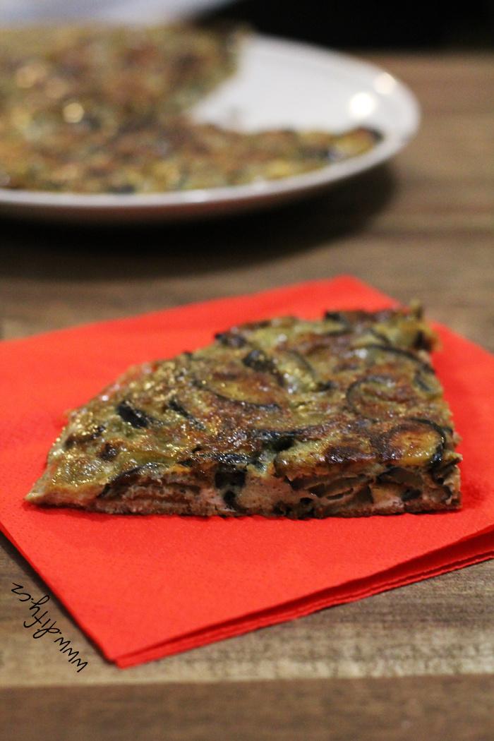 Domácí baklažánová tortilla