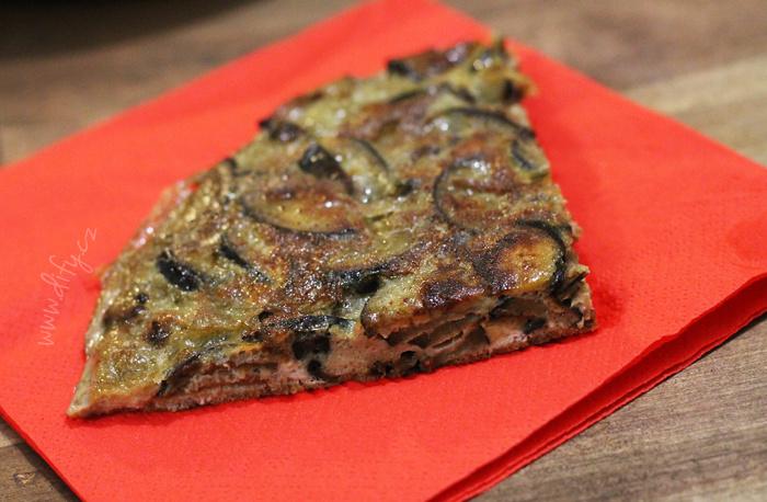Domácí lilková tortilla