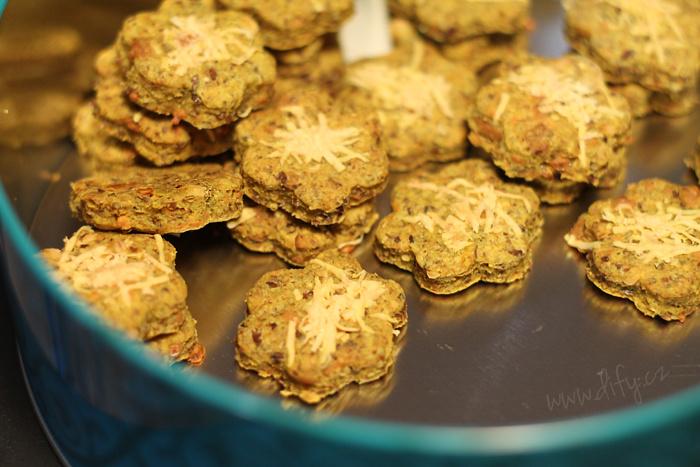 Lněné sušenky s kurkumou