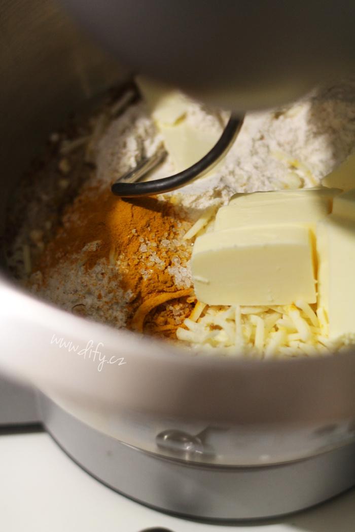 Zdravé sušenky z lněného semínka se sýrem