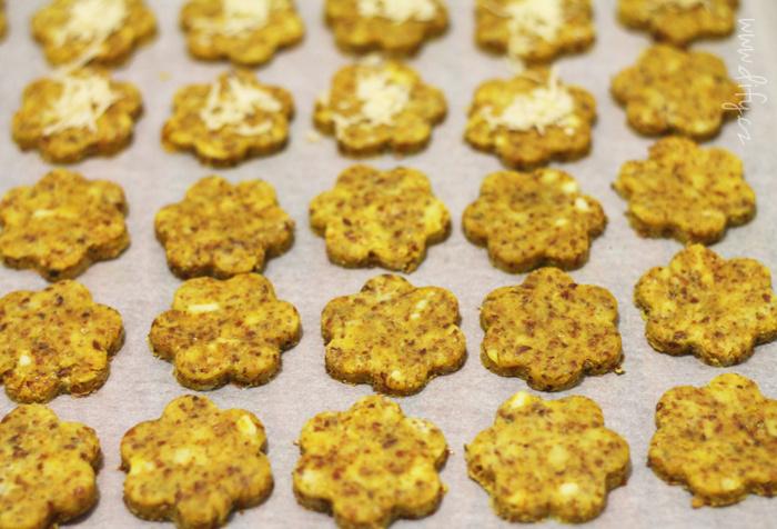 Recept na zdravé lněné sušenky