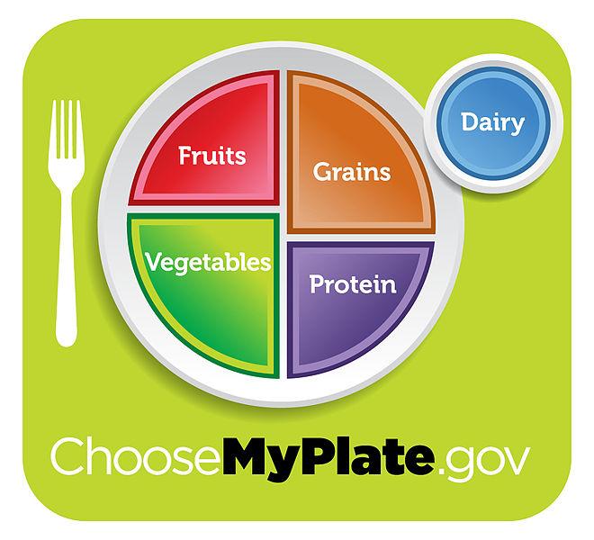 Výživová doporučení: MyPlate - Můj Talíř