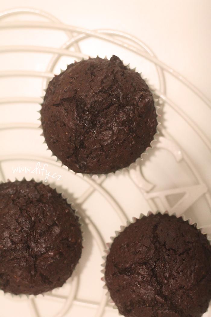 Nejlepší domácí čokoládové muffiny s ořechy