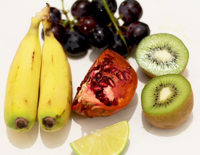 Recept na jednoduchý ovocný salát s mandlovým olejem