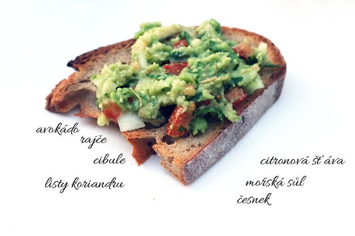 Recept na guacamole